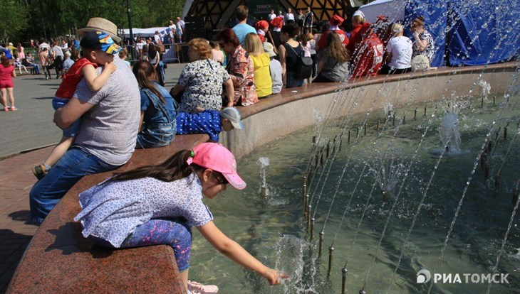 Сухая жаркая погода ожидается в Томске во вторник