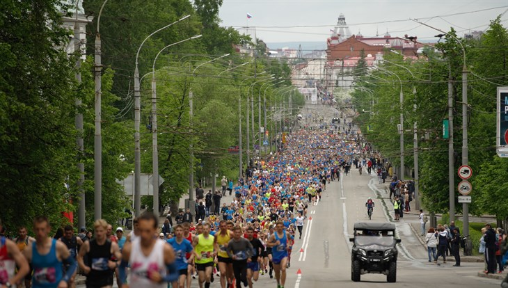 More than 3 ths runners from 14 countries take part in Tomsk marathon