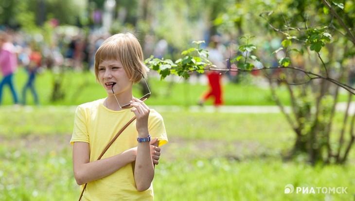 Четверг в Томске ожидается теплым, но возможны небольшой дождь и гроза
