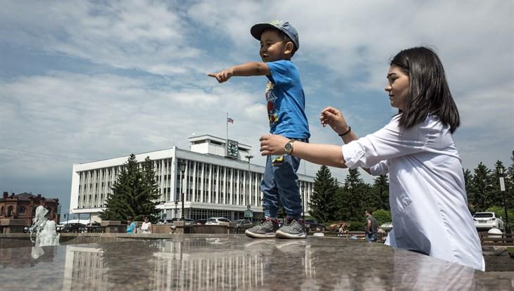 Синоптики не ожидают дождя в Томске во вторник