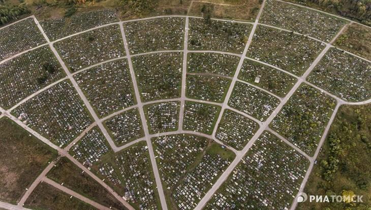 Новое кладбище построят под Томском у деревни Воронино